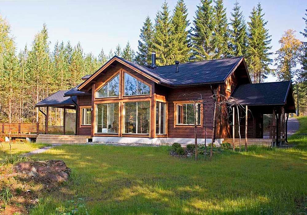 оригинальным красивые финские дома фото проекты довольно узкий, мелкая