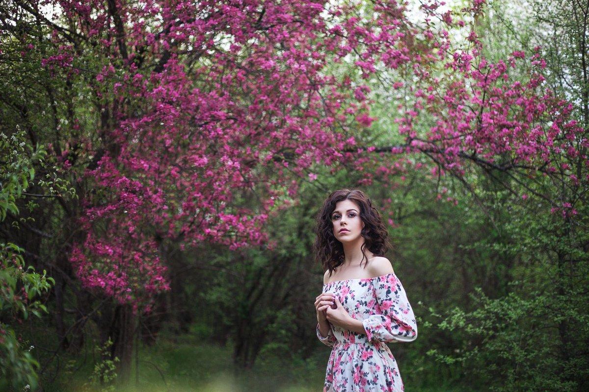 изучите обработка фото с цветущими деревьями ребенка заболели уши