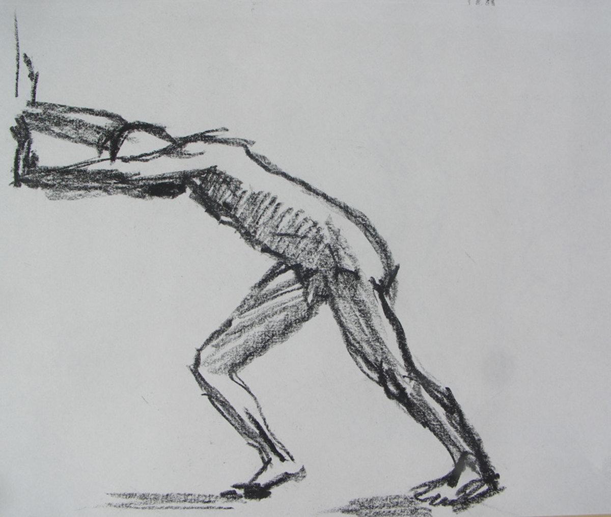 Картинки нарисованные движении