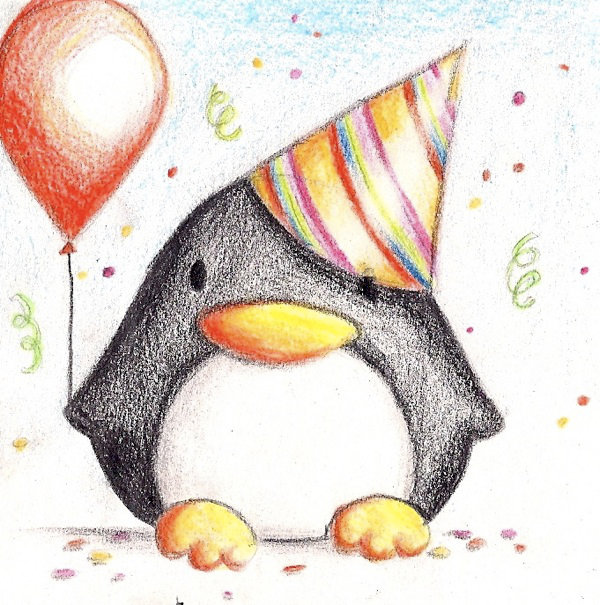 Крутые рисунки карандашом на день рождения, февраля для