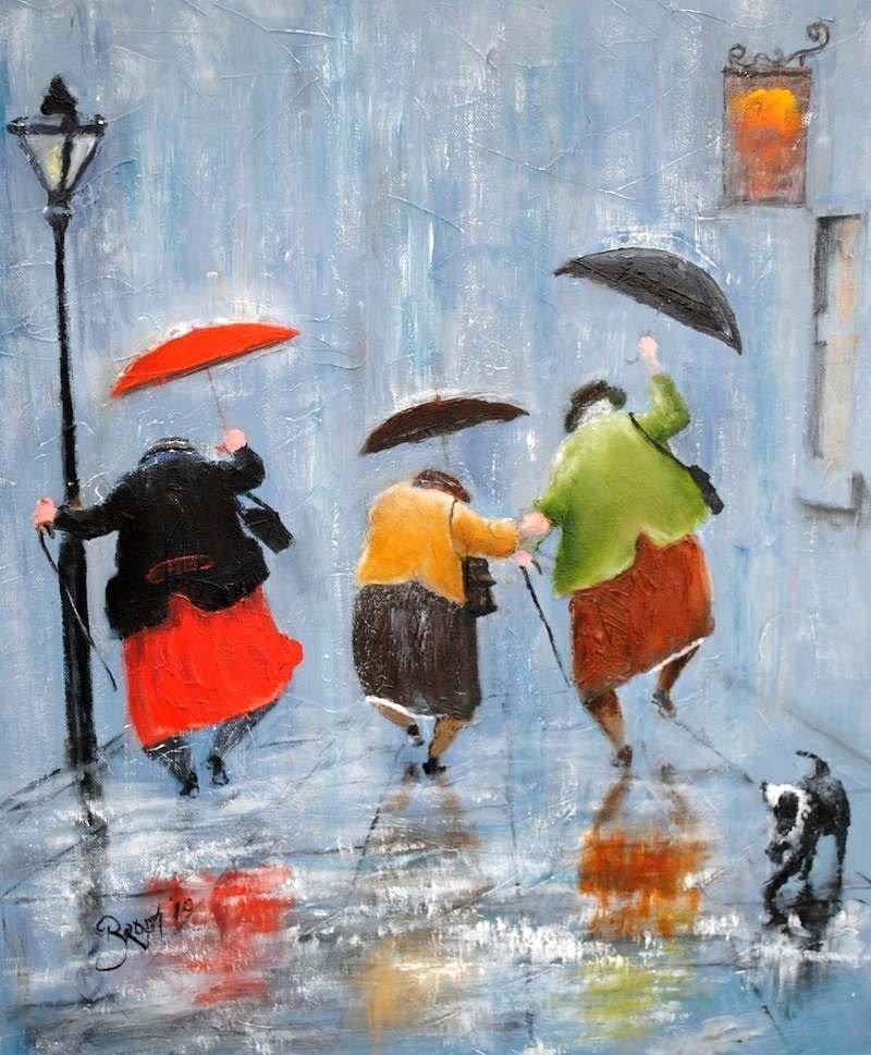 Надписи в картинках про дождь