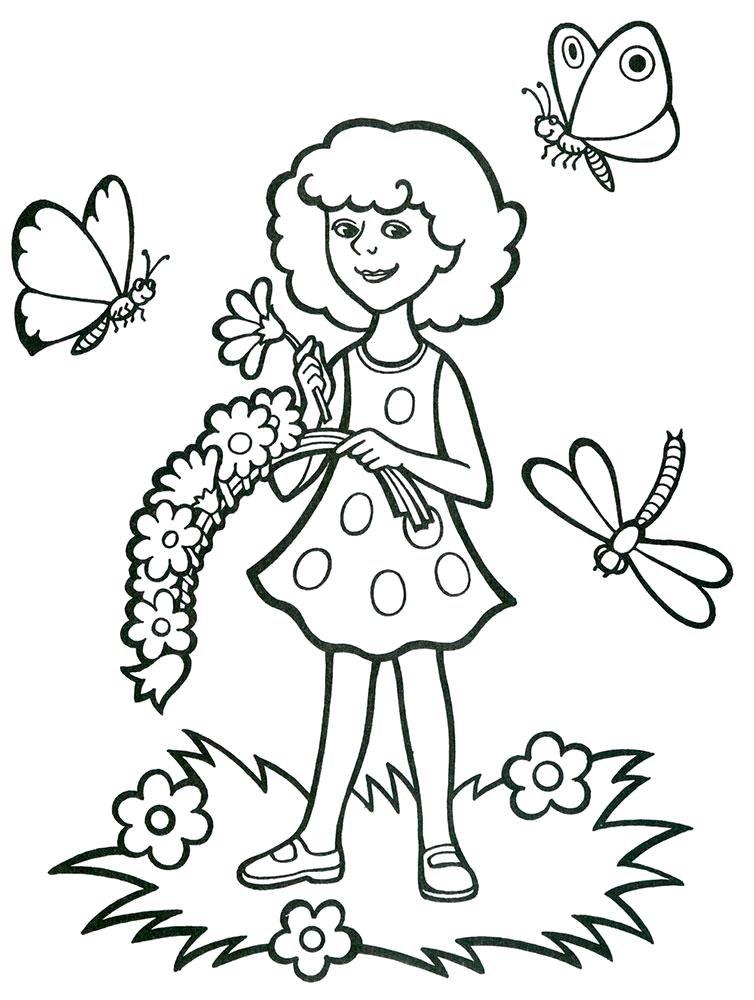 Картинки на тему лето для детского сада распечатать, выдрами