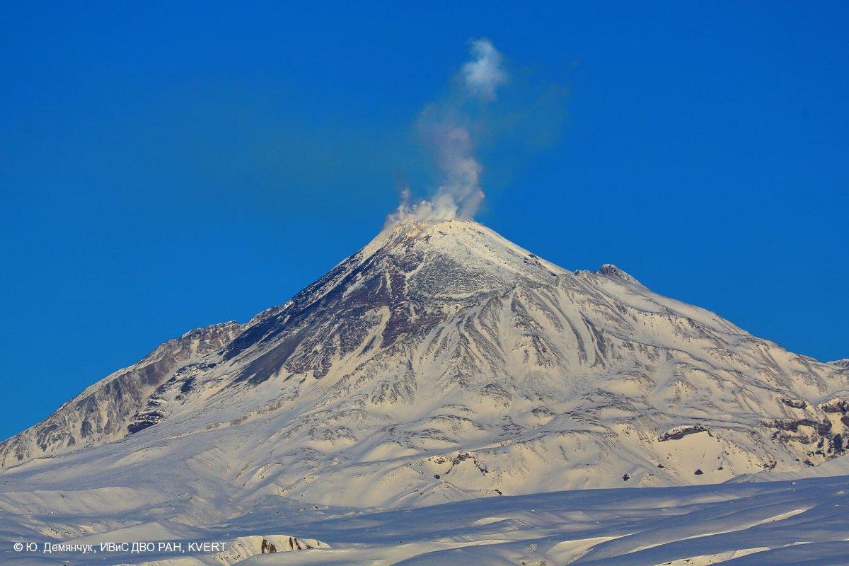 вулкан безымянный камчатка фото одной