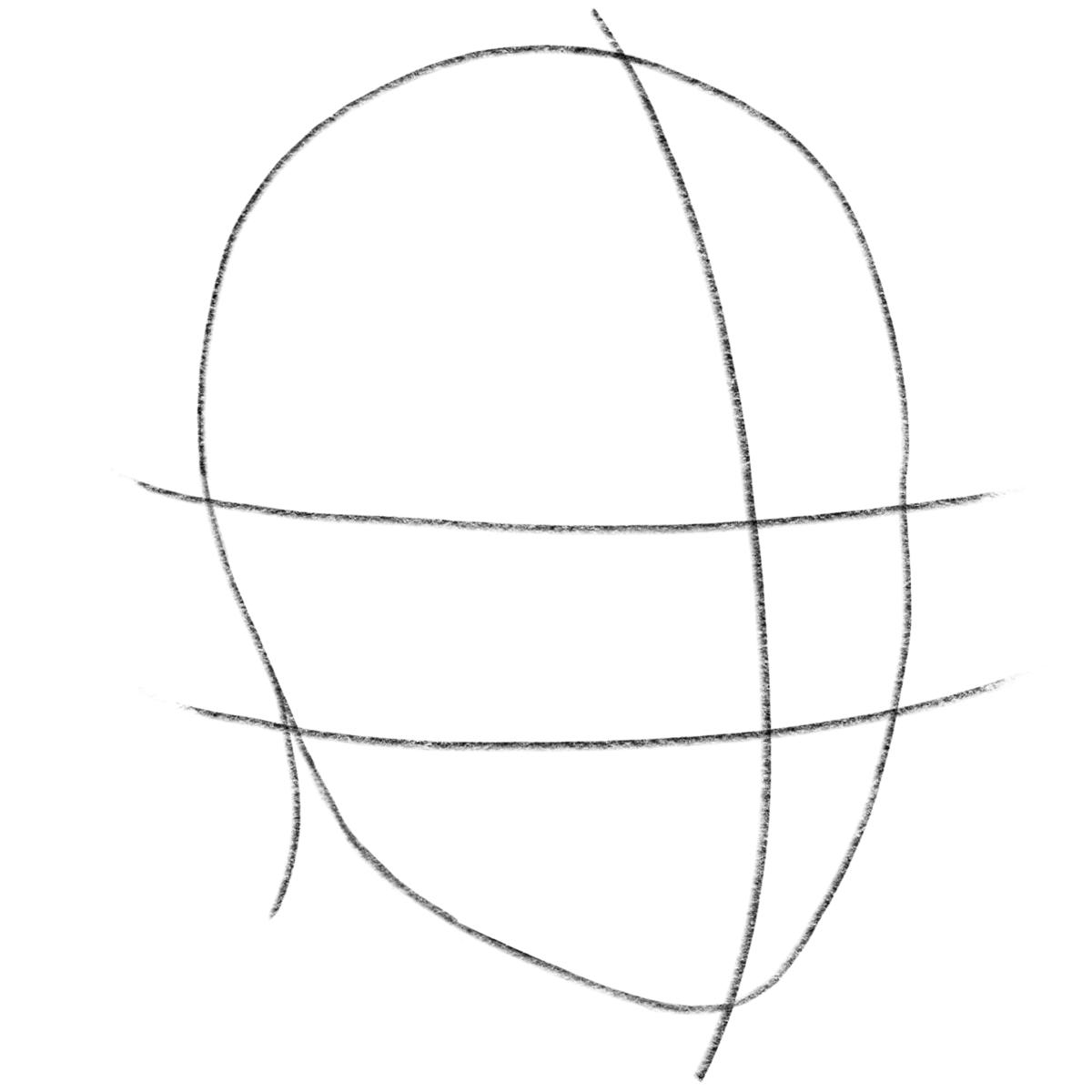 картинки как нарисовать голову человека поэтапно таблице