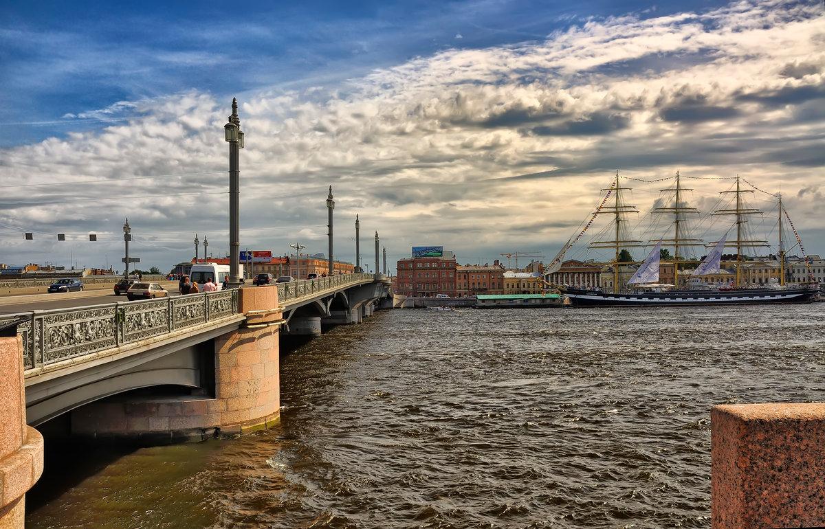 Картинка мост благовещенский мост