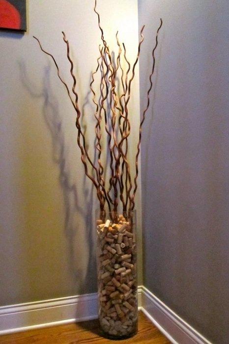 вазы из веток своими руками фото