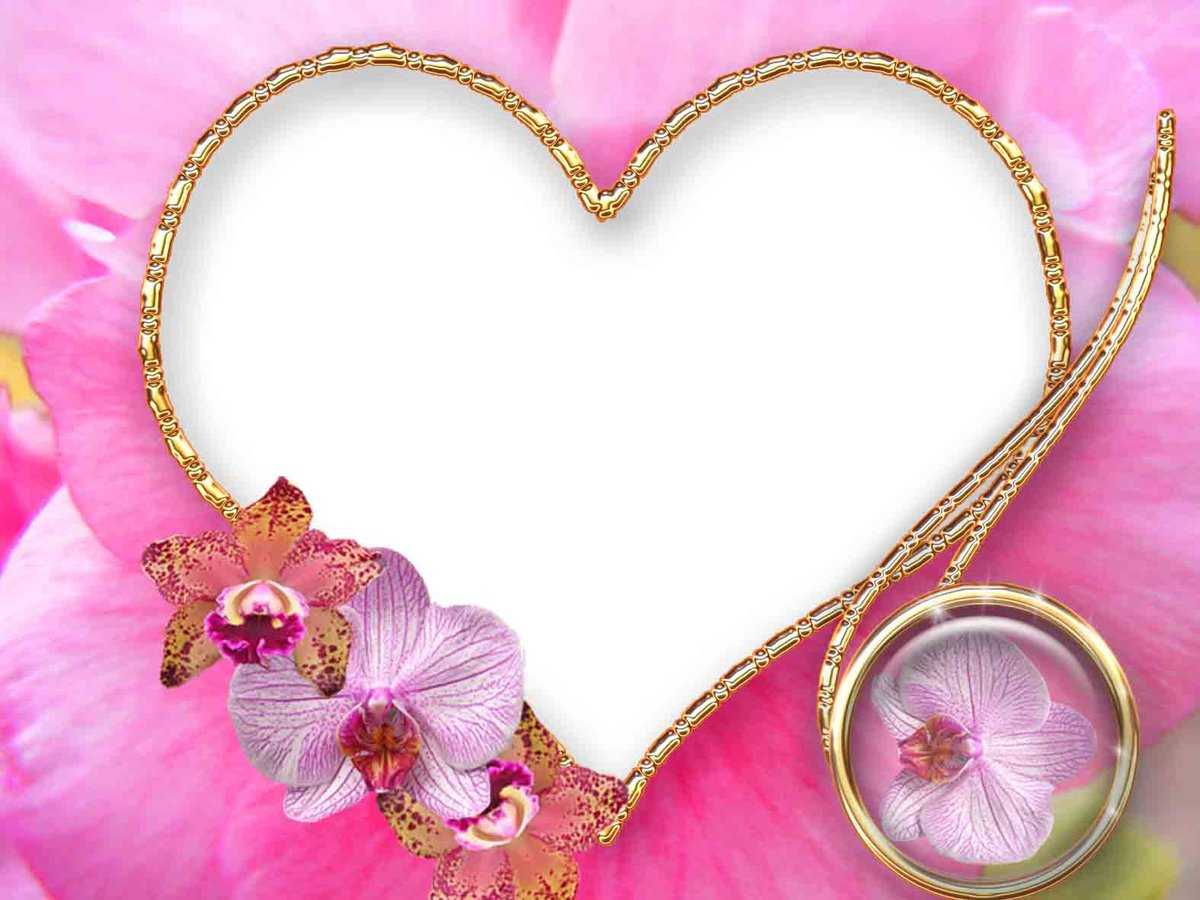 Открытки сердце рамки, девочки близнецы