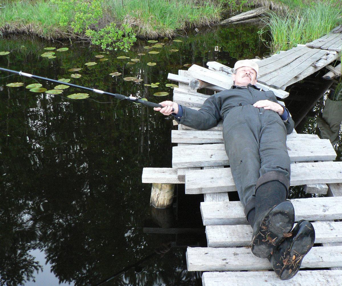 Мужики на рыбалку собрались