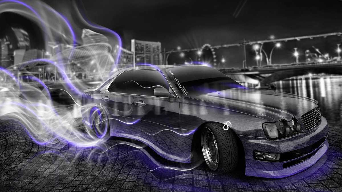 Great Nissan Cedric JDM Crystal City Smoke Drift Car