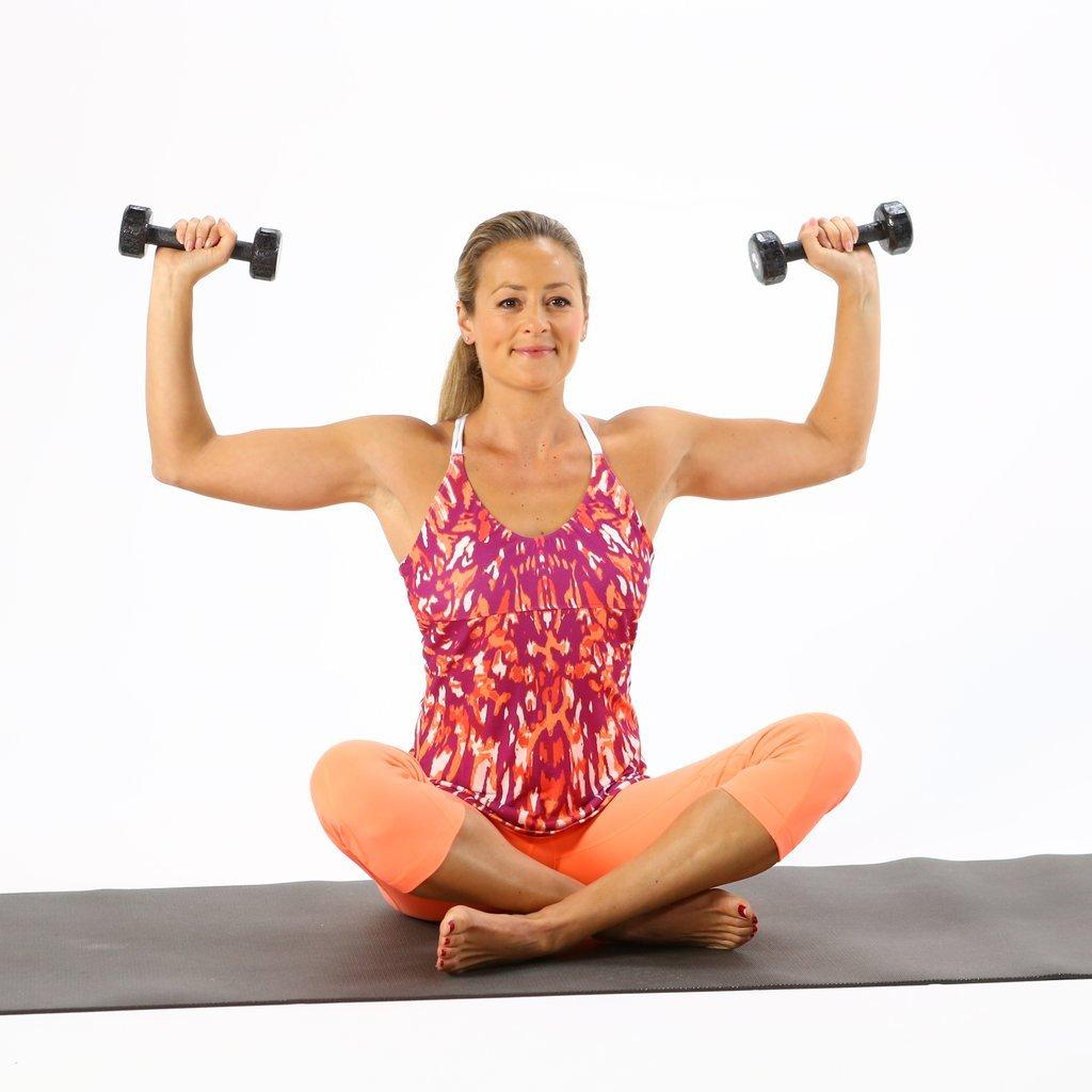 Похудеть Руки Гантелями. Эффективные упражнения для похудения рук и плеч