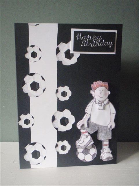 Девочку, открытка мальчику футболисту своими руками