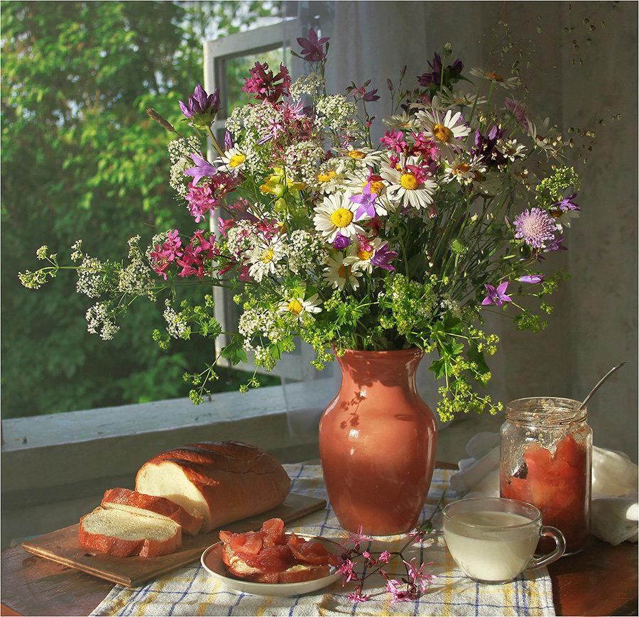 Поздравлениями, картинки летнего утра