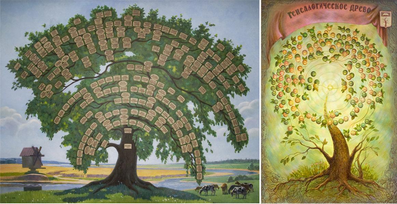 картинка древо жизни в виде дерева всех сторон