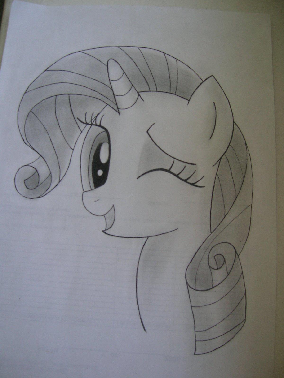 Днем рождения, картинки для срисовки карандашом прикольные пони