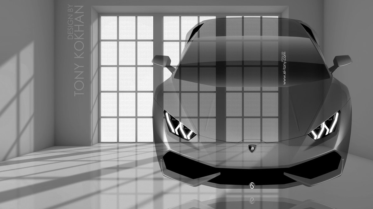 Lamborghini Huracan FrontUp Fantasy Crystal Home Fly Car