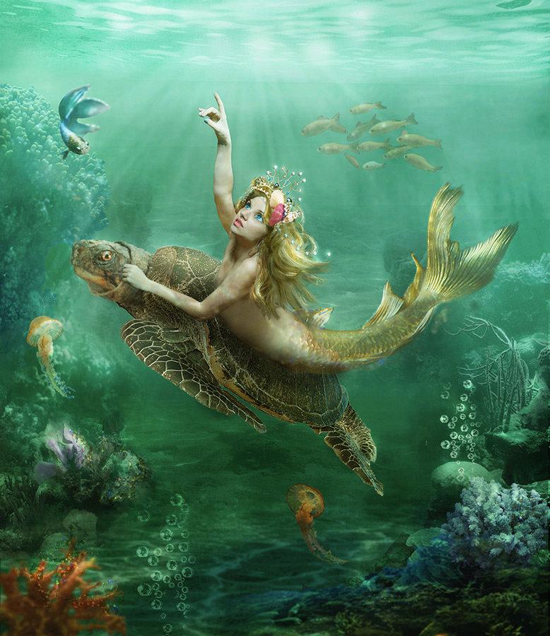 картинки подводного мира или с русалками стоит недооценивать роль