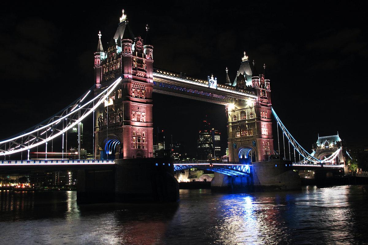 фото лондона ночью