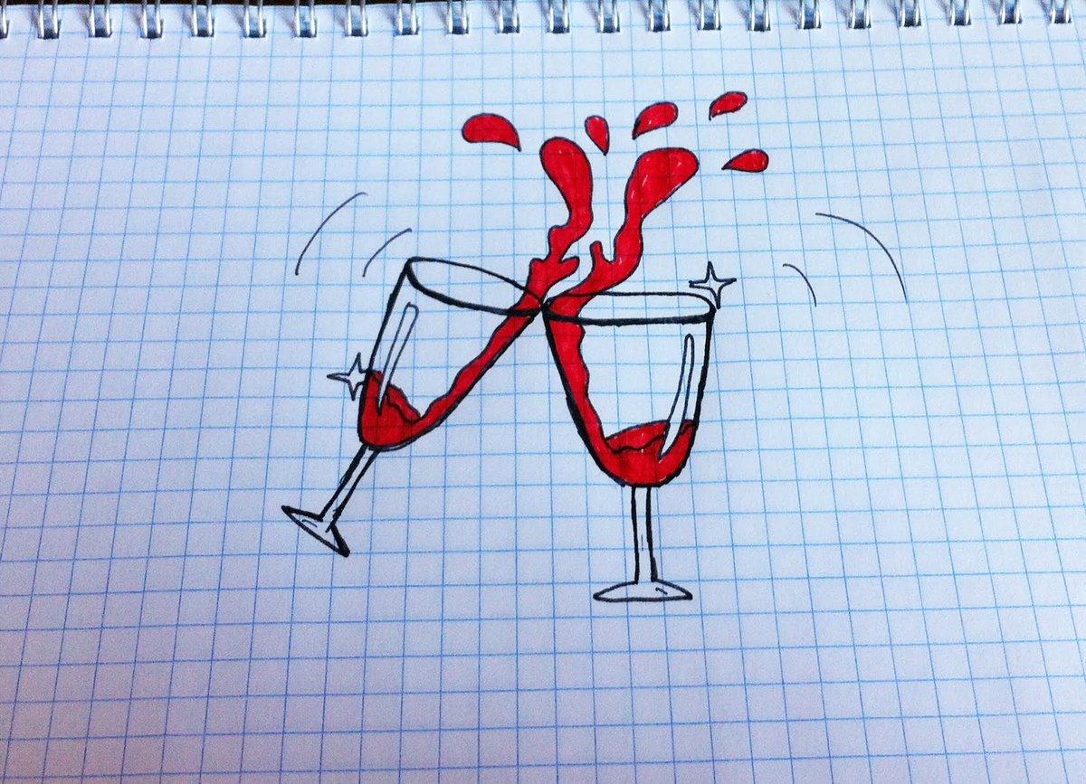 Нарисовать прикольные рисунки легкие