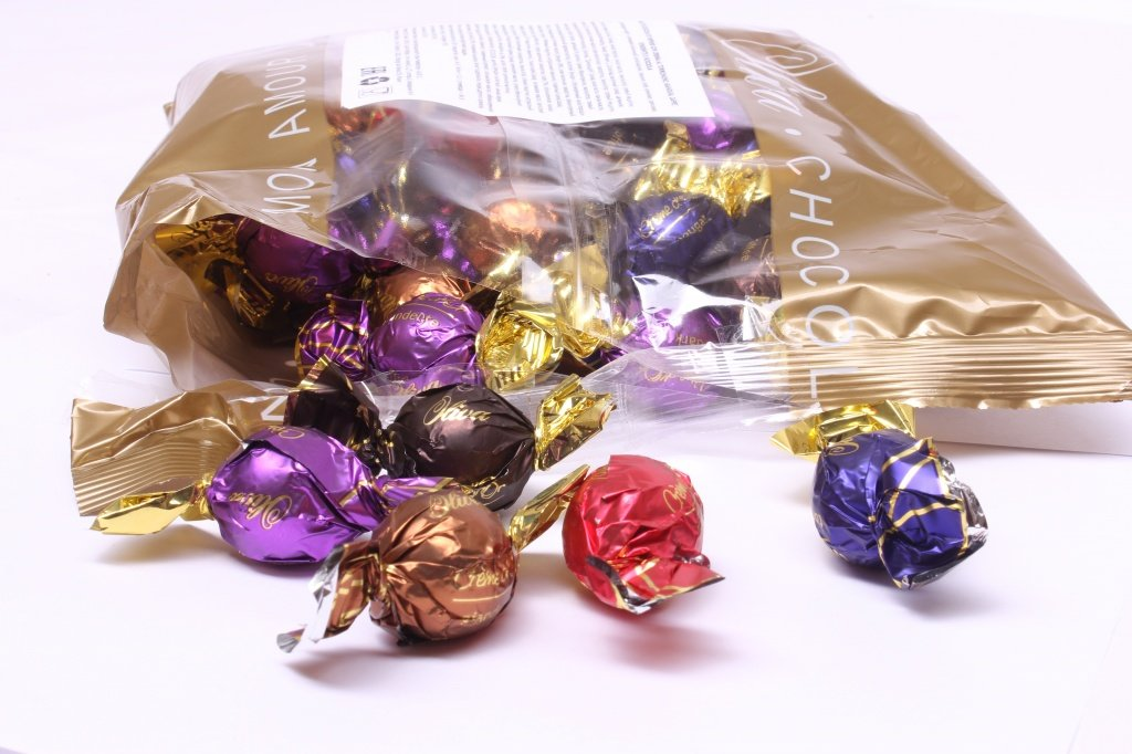 Картинки шоколадных конфет в обертке