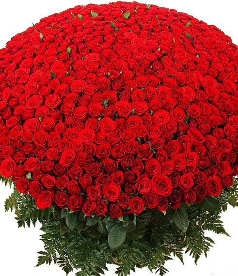 Открытка с миллионом роз, поющие дети