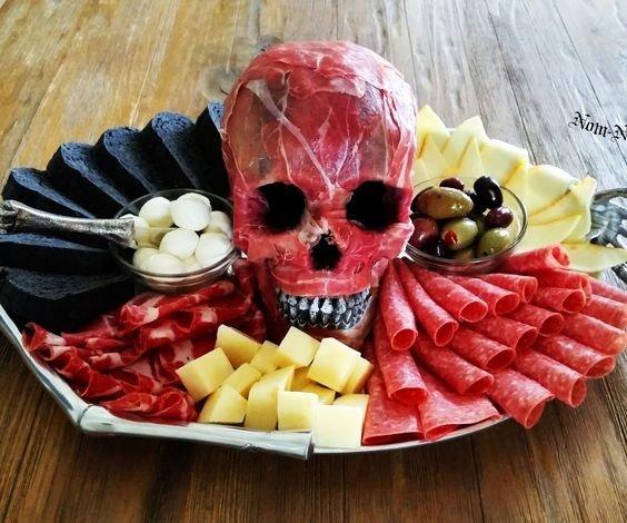 Праздничный стол на хэллоуин рецепты с фото