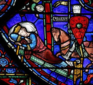 витраж готического стиля витражшартского собора
