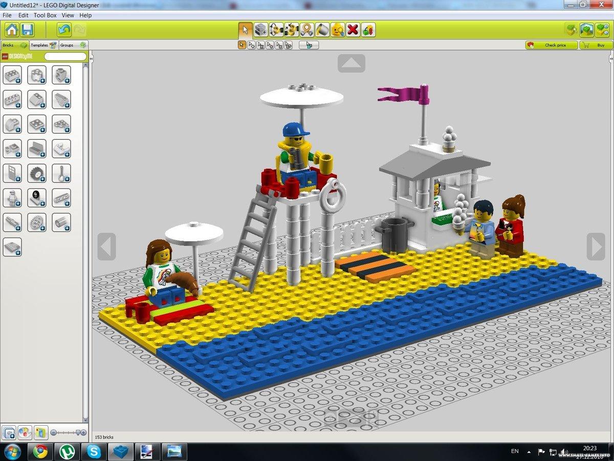 Lego Digital Designer Lego Dig Card