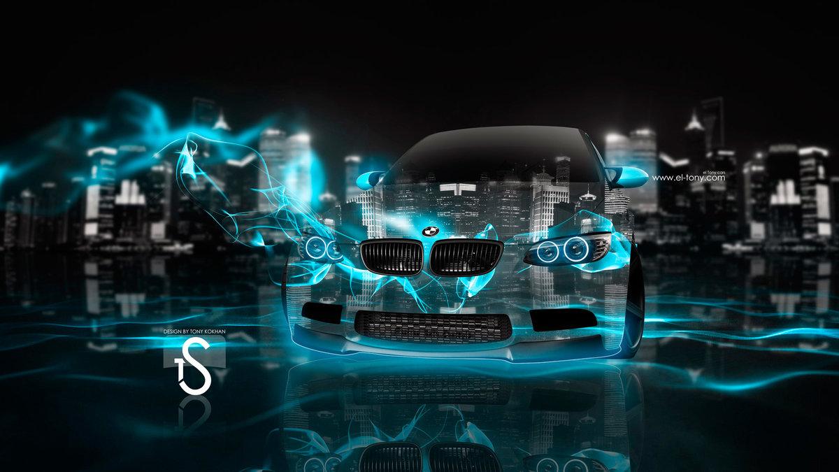 BMW Fantasy Crystal Azure Energy Car 2013 HD