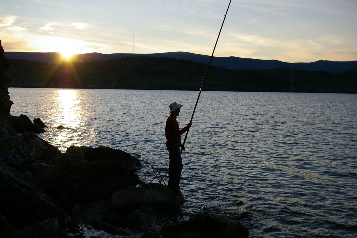 Лето рыбалка на байкале