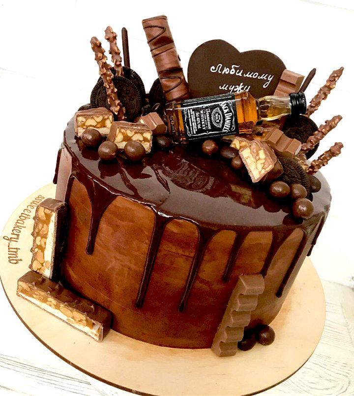 «Торт для мужчины ореховый с орехами, какао и ванилью ...