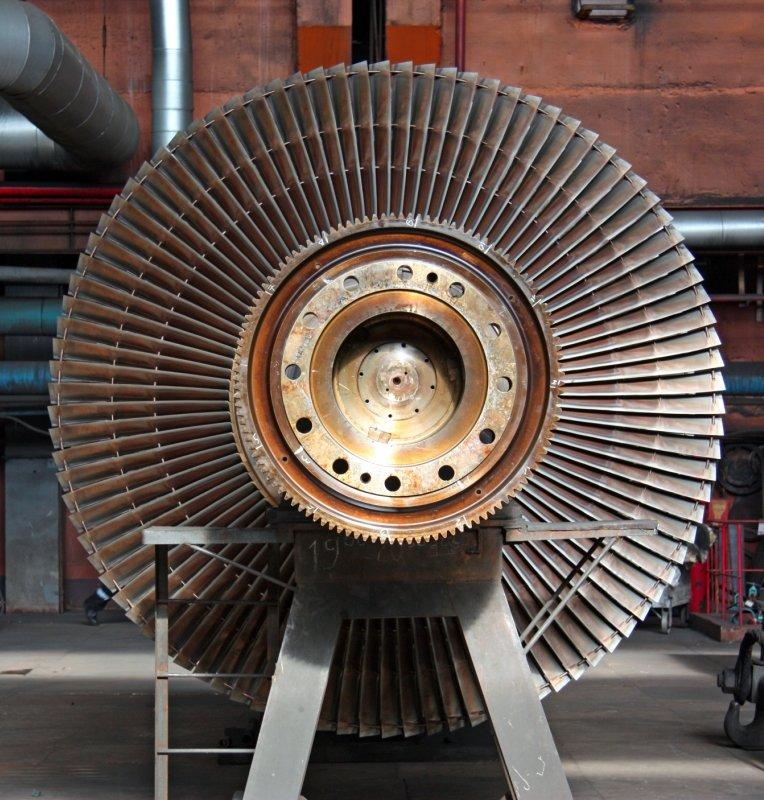 первых фото ротора турбины услуги