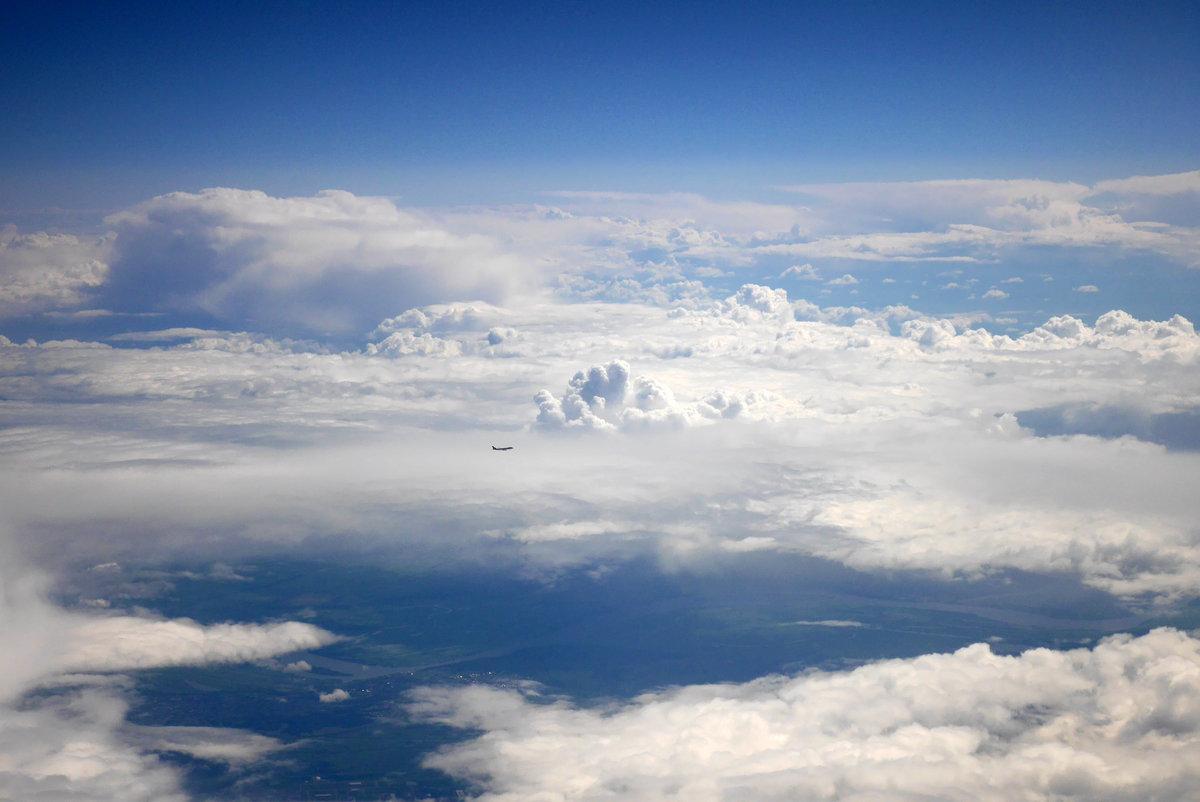 Фото облаков сверху