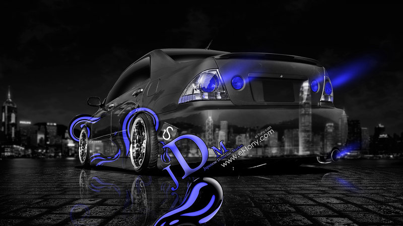 Toyota Altezza JDM Effects Crystal City Car 2013