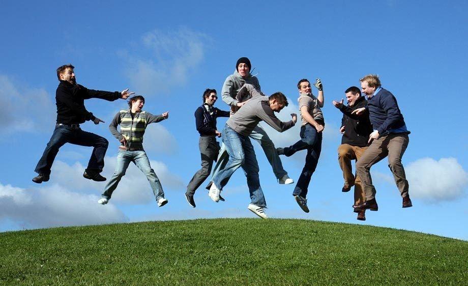 Поздравление для, смешные фото группы людей
