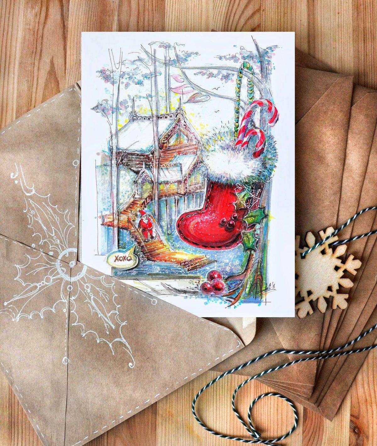 Сколько стоит иллюстрация к открытке