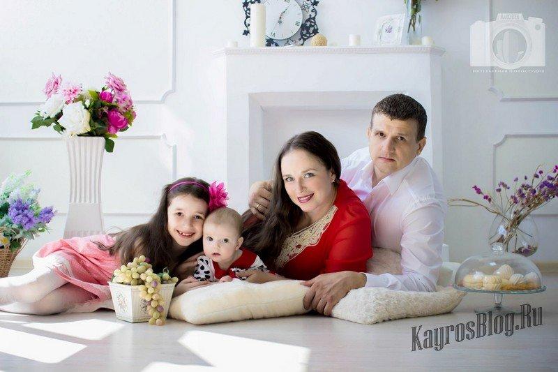 Как поставить семью на фотосессию