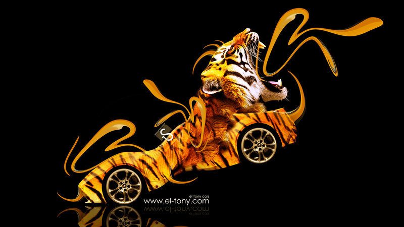 BMW Gina Light Visions Model Fantasy Plastic Tiger