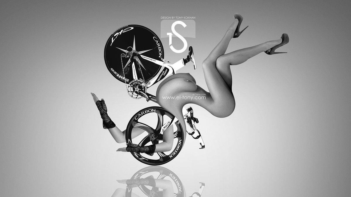 Velo Bike CKT Fantasy Sexy Girl 2013 HD