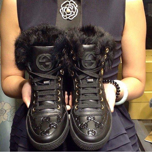 Ботинки зимние Gucci женские. Купить ботинки женские Тимберленд зимние  недорого - интернет Подробности.. a11769cbf03b2