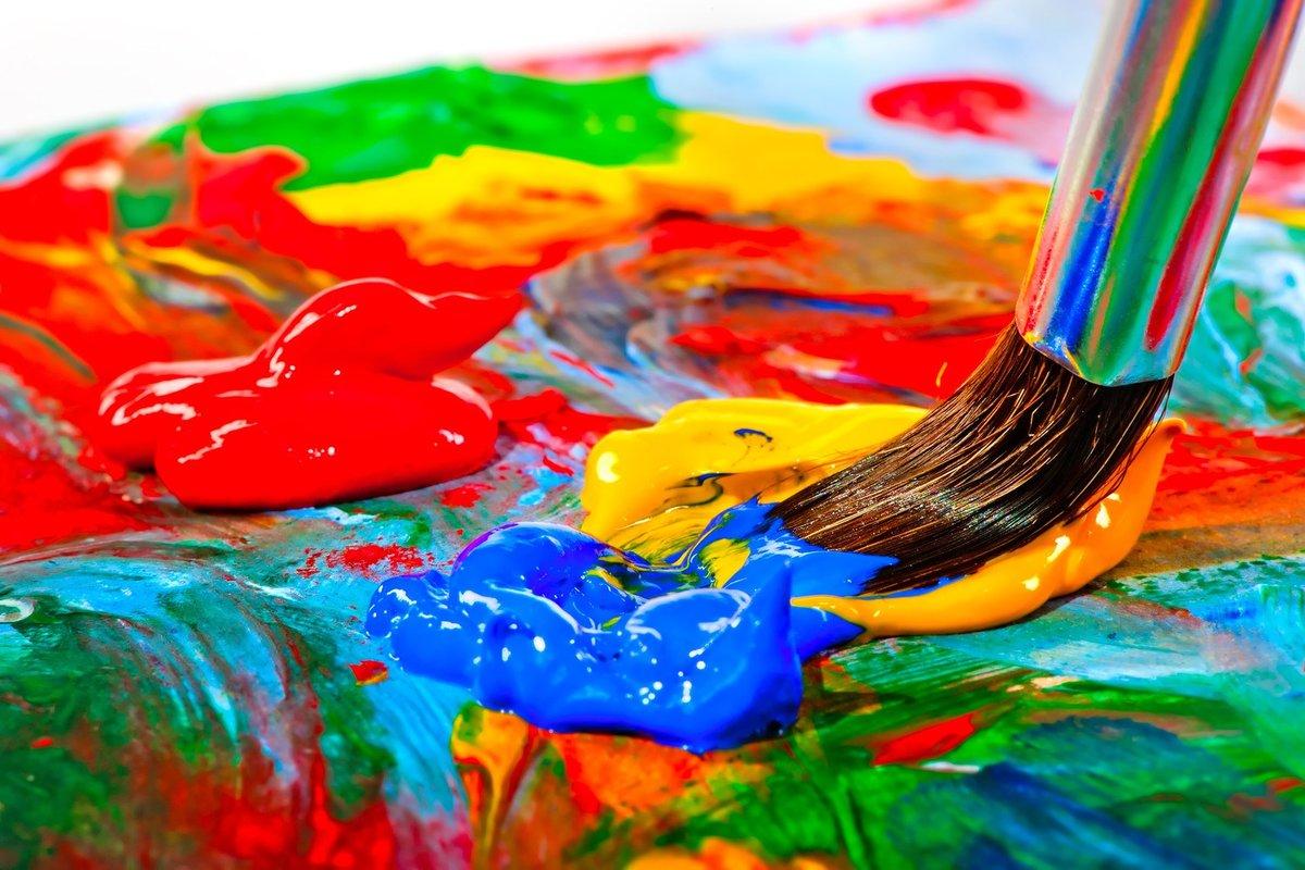 Краски интересные картинки