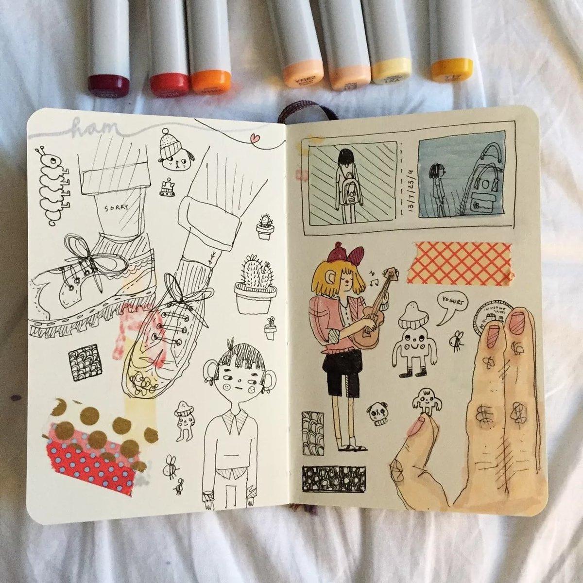 Картинки и надписи в артбуке, сделать