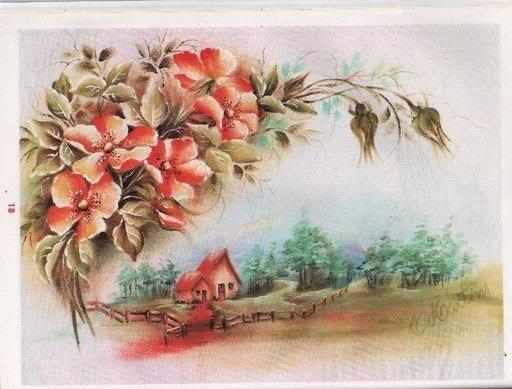 Природа на старинных открытках, днем нефти смешные