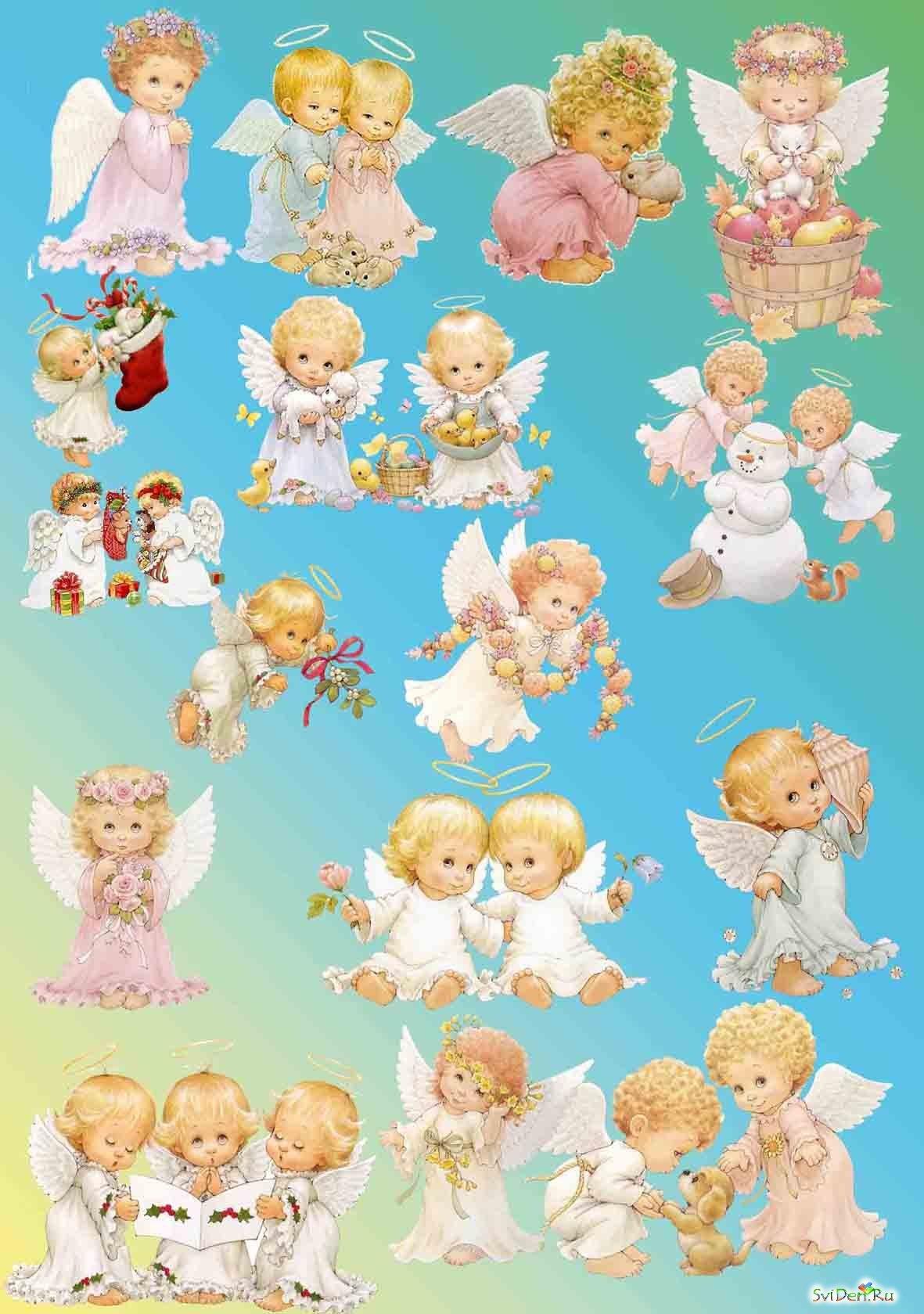 картинки для фотопечати с ангелами можно назвать