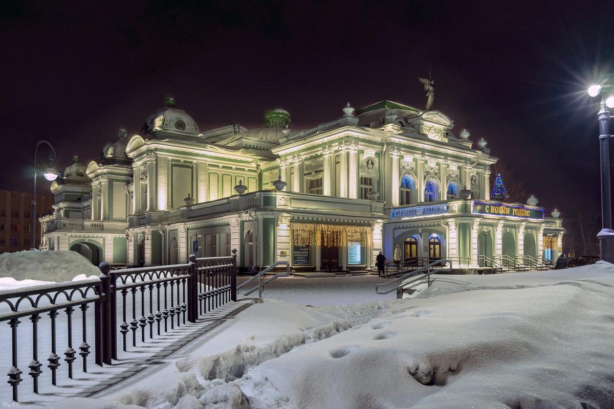 красивые фото омска зимой твиты