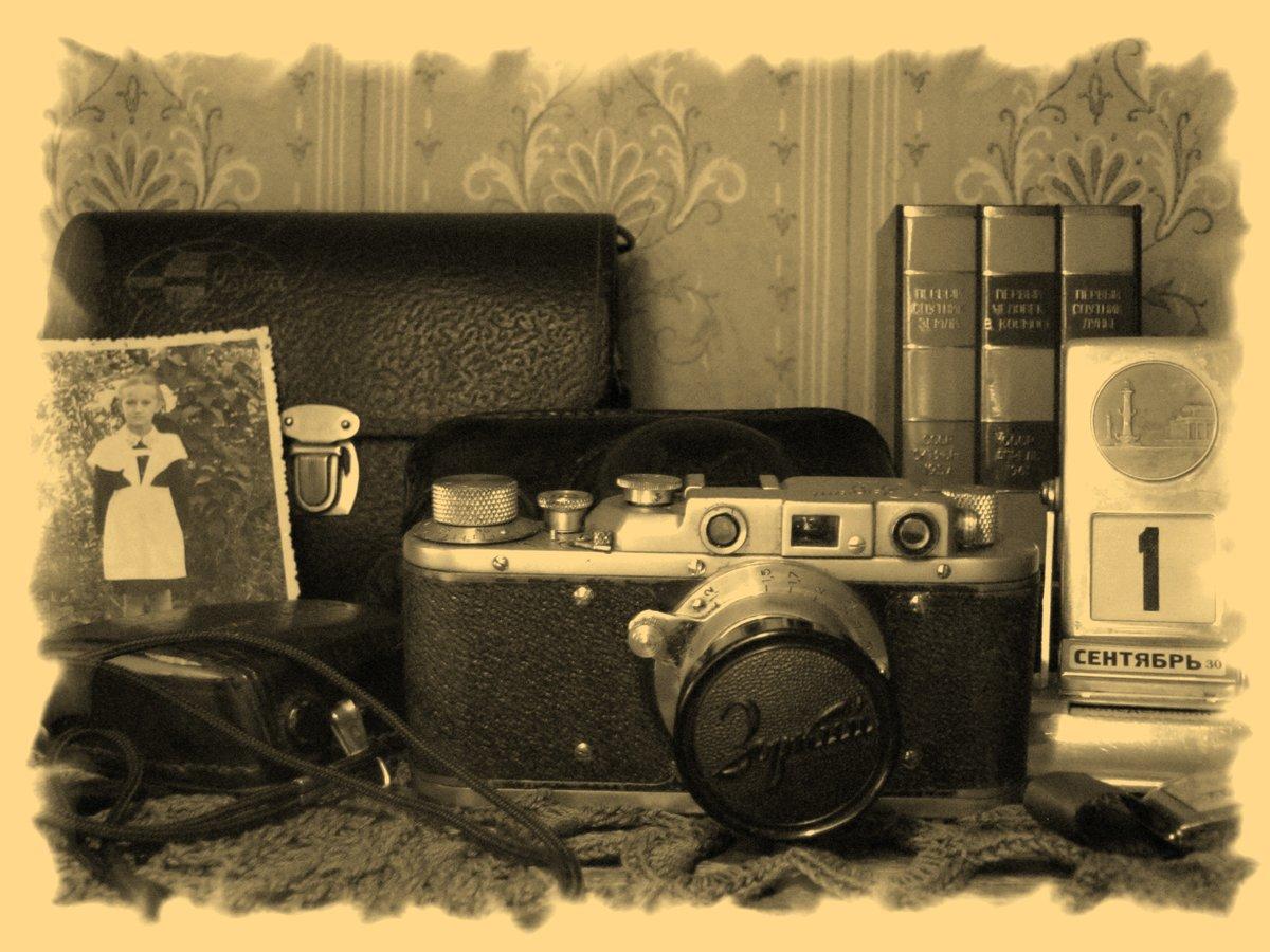 Советские открытки с фотоаппаратом, международным