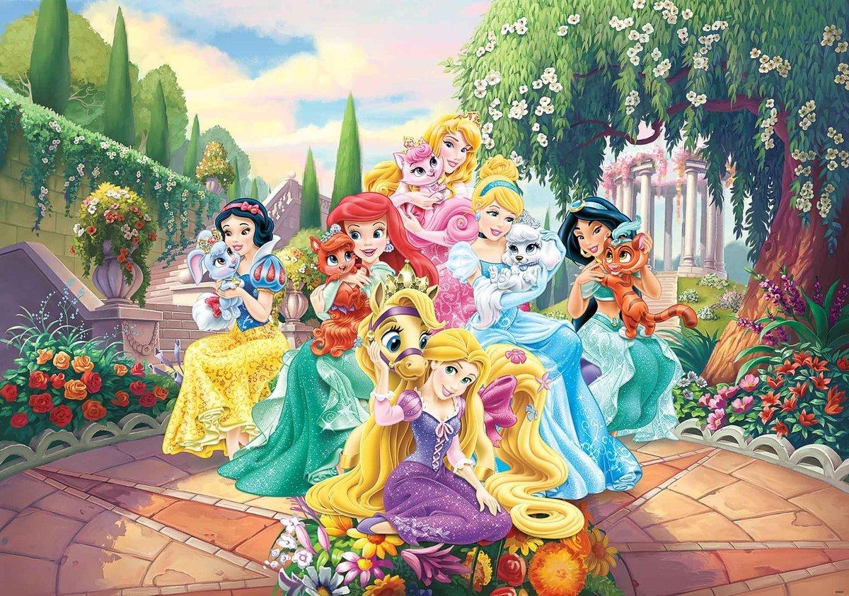 Картинка с принцессами диснея хорошего качества, днем рождения