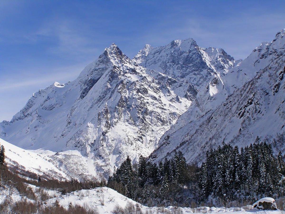 по-настоящему картинки горы красивые домбай многие