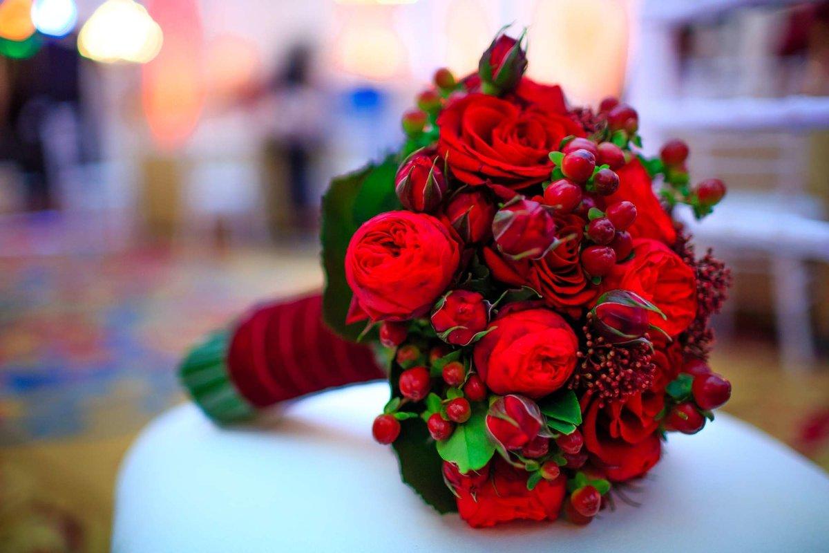 Роз полу, свадебный букет как