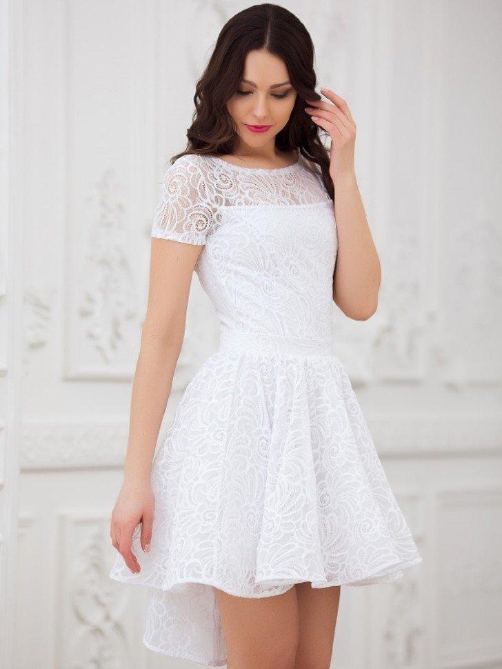 нам картинки белого платья с кружевами изделия форме
