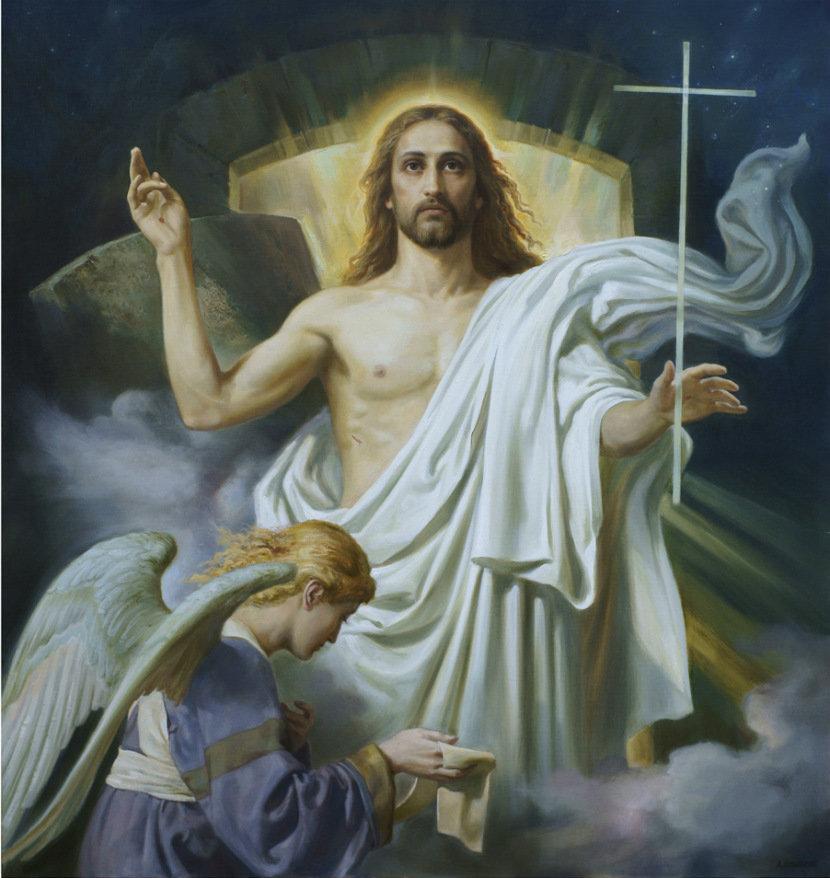Самые красивые христианские картинки, лазерная